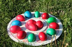 Easter Colored Eggs - Public Domain Photos, Free Images for Commercial Use