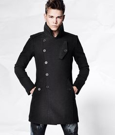 I would look good in this coat... Just saying :)