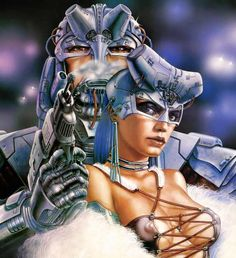 Game Over . luis royo