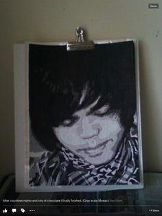 His self portrait