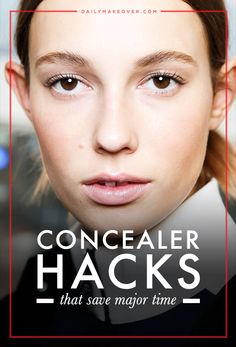 This multi-purpose tool is a beauty kit requirement. From lids to lips, here are expert tips for unexpected, weird ways to use concealer. Beauty Kit, Beauty Review, Beauty Style, Beauty Secrets, Beauty Products, Beauty Hacks Lips, Prevent Ingrown Hairs, Eye Liner Tricks, Combination Skin