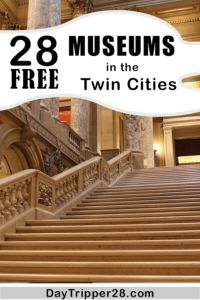 Leave the wallet at home. Here's how to visit 28 different museums in Minneapolis for FREE!  Summer | Family Fun | Twin Cities | Things to to | Saint Paul | Budget | Minnesota | Free Things #DayTripper