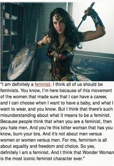 Inspiring Quotes About Wonder Woman from the Women Who Played Her