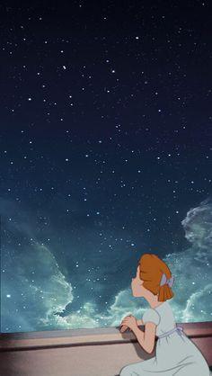 Peter pan background Disney