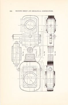 1886 Technical Drawing Antique Math Geometric by Holcroft on Etsy, $12.00