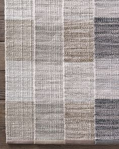 Perennials® Heathered Stripe Outdoor Rug Outdoor Rugs, Great Rooms, Perennials, Hand Weaving, Pattern, Cannon, Design, Nest, Porch