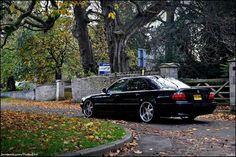 BMW E38 7 series black