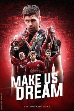 Liverpool Champions, Liverpool Legends, Liverpool Fans, Liverpool Football Club, Steven Gerrard Liverpool, Liverpool Wallpapers, Michael Owen, This Is Anfield, European Soccer