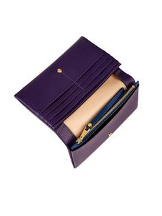 Chloé Fold-over leather wallet