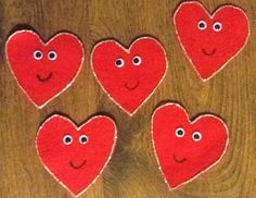 Felt Board Ideas: Valentine Poems for the Felt Board
