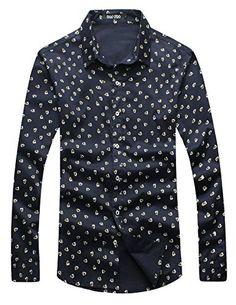 APTRO Men's Cotton Slim Fit Long Sleeve Casual Dress Shirt 5239 Floral US XS APTRO http://www.amazon.co.uk/dp/B015XMD1HS/ref=cm_sw_r_pi_dp_a.oywb1DRK9F7