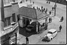 Beşiktaş eski Deniz Müzesi karşısındaki benzinci - 1960'lar