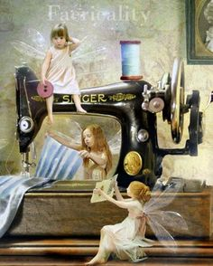 I need these little fairies to do my sewing!