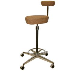 Shop stools and other antique and modern chairs and seating from the world's best furniture dealers. Desk Chairs, Office Chairs, Vintage Stool, Herman Miller, Repurposing, Modern Chairs, Industrial Design, Cool Furniture, Spaces