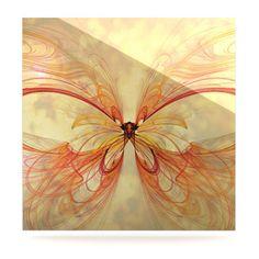 Papillion by Alison Coxon Graphic Art Plaque