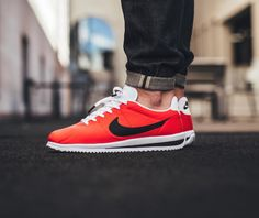 online store e8a45 dfe20 The new Nike Cortez Ultra is offered in a bright crimson colorway this  season. Find the pair at Nike stores overseas first.