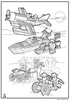 Magic Ninjago Lego Coloring Pages 01
