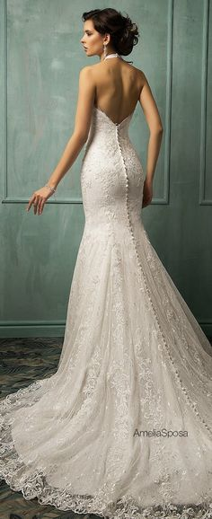 Amelia Sposa 2014 Wedding Dresses - Belle the Magazine . The Wedding Blog For The Sophisticated Bride 100% just found my wedding dress!!