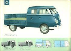 The original VW Double Cab