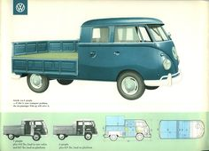 The original VW Double Cab#Repin By:Pinterest++ for iPad#