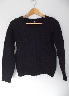 wełniany sweter H&M XS-S Kup mój przedmiot na #vintedpl http://www.vinted.pl/damska-odziez/swetry-z-dzianiny/15617175-hm-sweterek-z-welna-s-xs