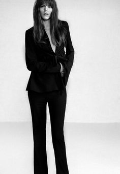 'All Day Everyday' . Freja Beha By Collier Schorr For The Gentlewoman . Freja Beha Erichsen, Le Smoking, Formal Wear Women, Minimal Chic, Simple Elegance, Spring Summer 2015, Parisian, Personal Style, Dress Up