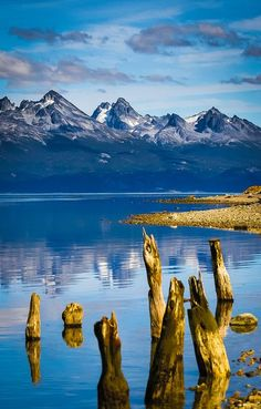 The Land of Fire - The southern tip of Ushuaia - Tierra del Fuego (Argentina) by Gilad Rom Ushuaia, Places Around The World, Travel Around The World, Around The Worlds, Wonderful Places, Beautiful Places, Amazing Places, Andes Mountains, Buenos Aires