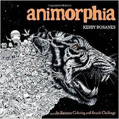 Animorphia Adult Coloring Book Giveaway