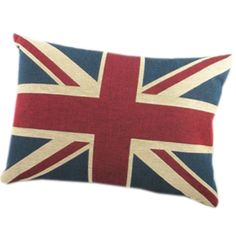 Union Jack pillow- a must. Even if it will look silly in Sherlock's chair instead of John's.