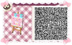 New leaf new patterns qr codes acnl kawaii et roses for Meubles japonais acnl