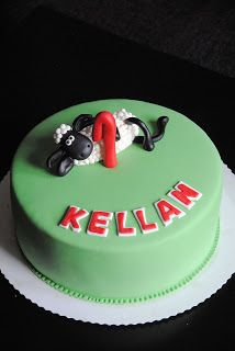 Homemade by MI: Keken Late Lammas kakku / Kellan's Shaun the Sheep...