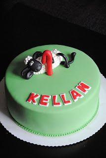 Homemade by MI: Keken Late Lammas kakku / Kellan's Shaun the Sheep...