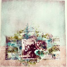 Layout for @scrapbookpasion