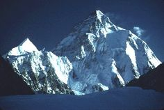 South Face of K-2 viewed from Concordia,Baltoro Glacier, Pakistan