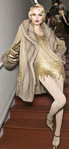 Backstage Jean Paul Gaultier  Haute Couture Fall-Winter 2009