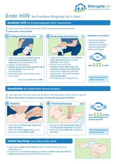 ᐅ First aid for the baby: react correctly, save lives!- ᐅ Erste Hilfe am Baby: Richtig reagieren, Leben retten! ᐅ First aid for the baby: react correctly, save lives! Nouveaux Parents, Baby Care Tips, Baby Tips, Baby Supplies, Baby Arrival, Pregnant Mom, Save Life, First Aid, Baby Hacks
