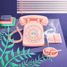 Rotary Phone by Tierra Connor