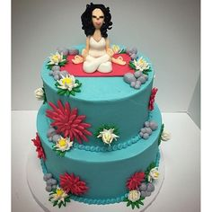 | Fitness-Inspired Cakes, Because Fit Fanatics Love Cake, Too | POPSUGAR Fitness Photo 4