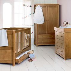 Silver Cross Canterbury Nursery Furniture Set – 3 Pieces £1,995.00. Classically designed and crafted in oak, the line is further enhanced by beautiful details such as crafted legs and coordinated handles. http://www.cruxbaby.co.uk/shop/luxury-furniture-sets-nursery-furniture-sets/silver-cross-canterbury-nursery-furniture-set-3-pieces-3/
