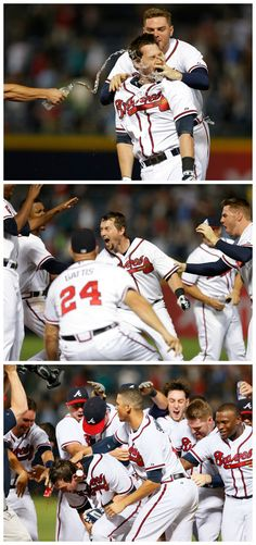 Chris Johnson comes up with a 2 out, bottom of the 9th RBI to beat the Indians!