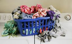 how to separate clothes for washing. tips in link