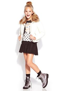 Stay Warm Puffer Jacket (Kids) | FOREVER21 girls - 2077478815