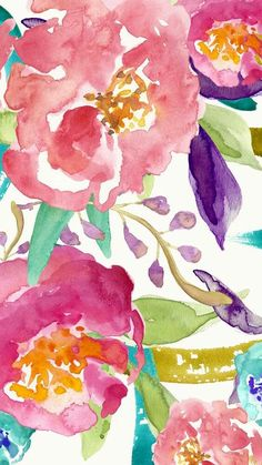 Find Hand Made Floral Watercolor Background Painted stock images in HD and millions of other royalty-free stock photos, illustrations and vectors in the Shutterstock collection. Floral Watercolor Background, Watercolor Wallpaper, Painting Wallpaper, Watercolor Flowers, Drawing Flowers, Pink Wallpaper Iphone, Flower Wallpaper, Iphone Wallpapers, Floral Wallpapers