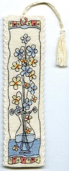 Michael Powell bookmark bookmarks закладка для книг вышивка крестиком cross stich