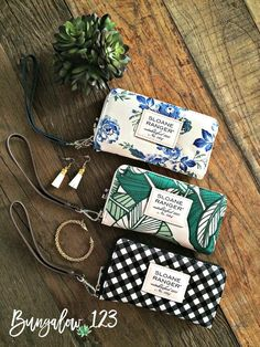Versatile Smartphone Wallets/Wristlets from Sloane Ranger. Compatible with IPhone 3G, 3GS, 4, 4S, 5, or 6 and several Android and BlackBerry models. Offers a detachable wrist strap, card slots and bil