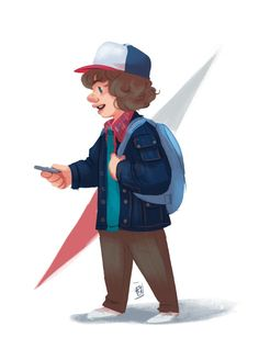 Fanny (Fy): Dustin from Stranger Things for Sketch Dailies