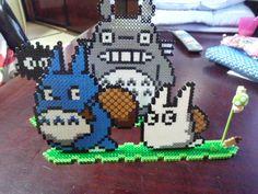Totoro perler beads