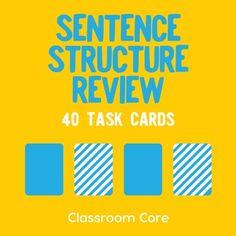 Sentence Types, Types Of Sentences, Complex Sentences, Sentence Structure, Sentence Writing, Middle School Grammar, Middle School English, Compound Complex Sentence, Relative Pronouns