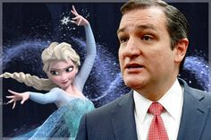 """Ted Cruz will never """"Let It Go"""": The right-wing's insane new fear of """"Frozen"""""""