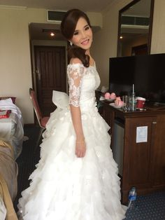 My makeup &Bridal dress#thailand